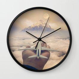 Control Your Dreams Wall Clock