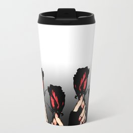 Red Roses Travel Mug
