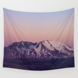 Mount Saint Helens at dusk Wall Tapestry