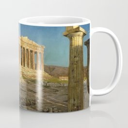 Frederic Edwin Church - The Parthenon - Digital Remastered Edition Coffee Mug