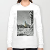 t rex Long Sleeve T-shirts featuring T Rex by sepulveda89