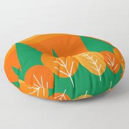 Fall Scene Floor Pillow