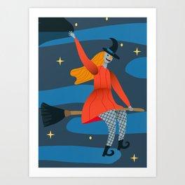 Myth Witch Art Print
