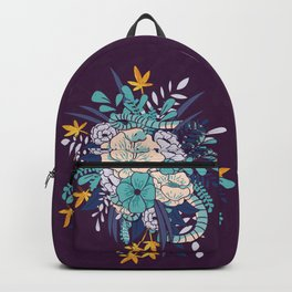 Jungle Bouquet 002 Backpack
