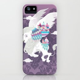 Flying Lion of Venice iPhone Case