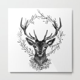 Royal stag Metal Print