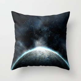Cold Space Throw Pillow
