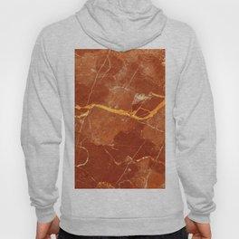 Red marble pattern Hoody
