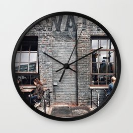 Outdoor Lunch Wall Clock