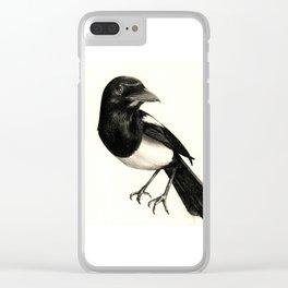 Pica Pica Clear iPhone Case