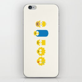 The Simpsons iPhone Skin