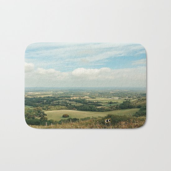 I Can See For Miles Bath Mat
