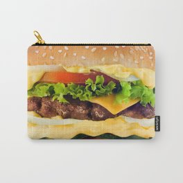 Cheeseburger YUM Carry-All Pouch