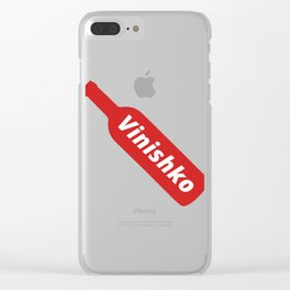 Vinishko Clear iPhone Case