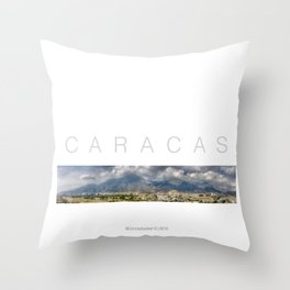 East CARACAS West Throw Pillow