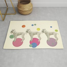 Oodles of Poodles Rug
