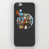 metal gear iPhone & iPod Skins featuring METAL GEAR RICK by Philtomato