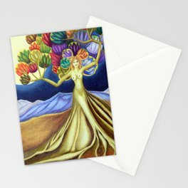 Grace in Full Bloom Stationery Cards