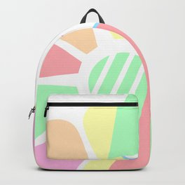 Pastel Melancholy in Spring Backpack