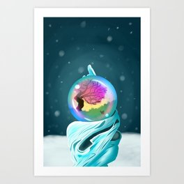 a spark of happiness Art Print