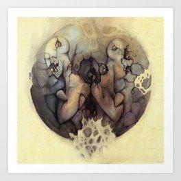 Destructive Division Art Print
