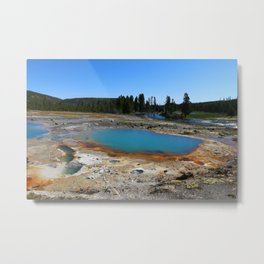 The Colors Of The Thermal Holes Metal Print