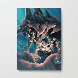 Seven Fathoms Deep Metal Print