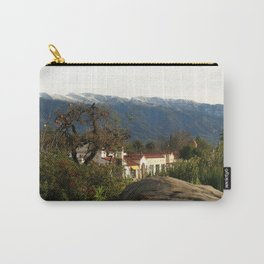 Ojai With Snow Carry-All Pouch