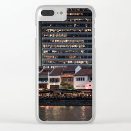 Architectual Antagonisms Clear iPhone Case