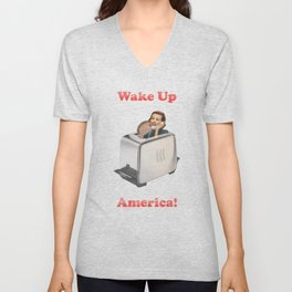 Wake Up Call Unisex V-Neck