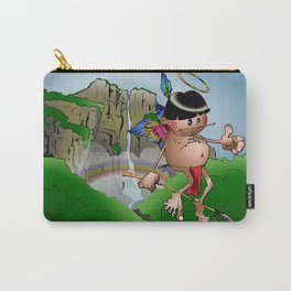 Dos Angeles - Two Angels Carry-All Pouch
