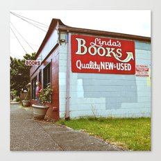 Little Tacoma bookstore  Canvas Print