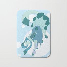 Ice Steampunk Fox Bath Mat