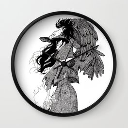 The Witch of Prey Wall Clock