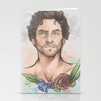 will graham Stationery Cards featuring Will Graham by skullfricked