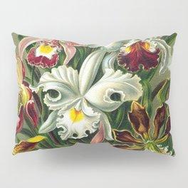 Victorian Orchids Floral Print-Ernst Haeckel Pillow Sham