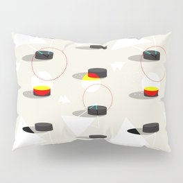 Pucks & Geometries #society6 #hockey #sport Pillow Sham