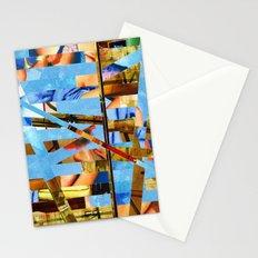 Geoffrey (stripes 18) Stationery Cards