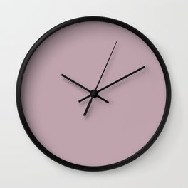 Keepsake Lilac Wall Clock