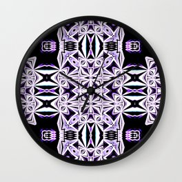 The Color Purple - Tribal Vibes Collection Wall Clock