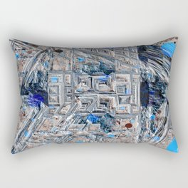 Rocky Outcropping - Negative Rectangular Pillow