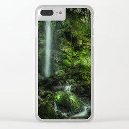 Mallyan in Green Clear iPhone Case