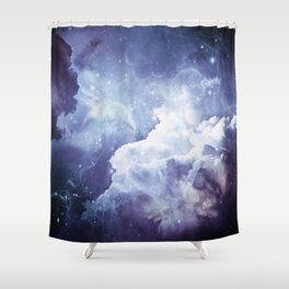 A Sky Made of Diamonds Shower Curtain