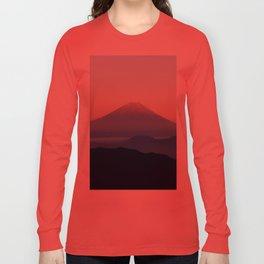Mt. Fuji, Japan Long Sleeve T-shirt
