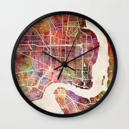 Jacksonville Wall Clock