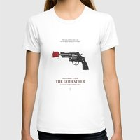 the godfather T-shirts featuring The Godfather by Smile In The Mind
