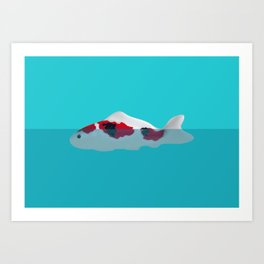 Japanese Fish Art Print