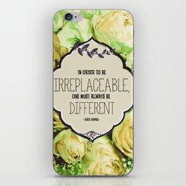 Irreplaceable Peonies iPhone Skin