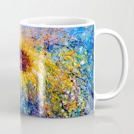 Sunflower Painting - In The Swirls Of Sunshine  Coffee Mug