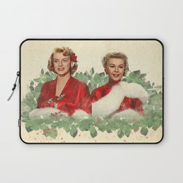 Sisters - A Merry White Christmas Laptop Sleeve